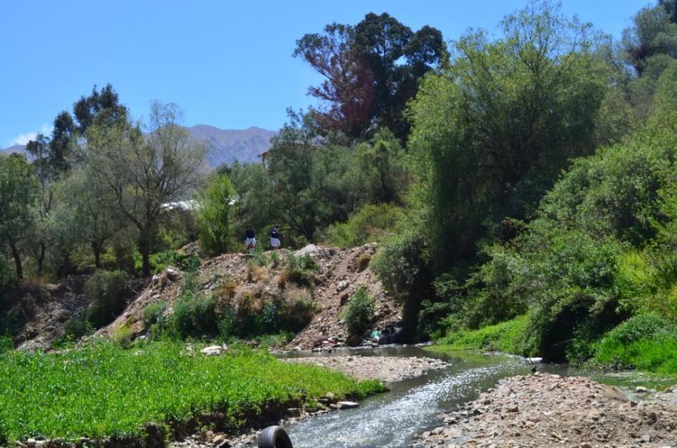 El río Rocha es un patrimonio histórico del área metropolitana de Cochabamba.