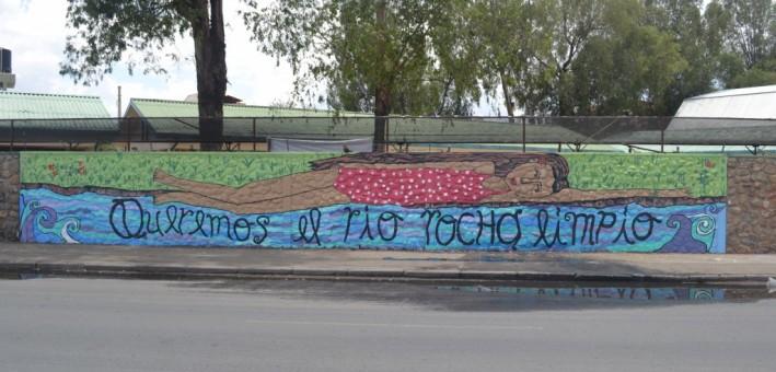 Mural en la escuela Nataniel Aguirre/Eliodoro Villazón